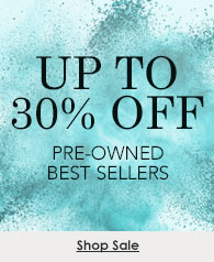 Up to 30% off certified pre-owned best sellers