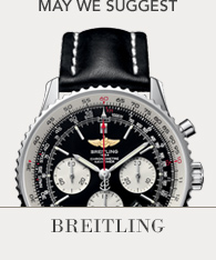 Featured Brand - Breitling, Shop now