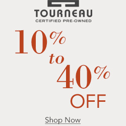 10-40% off select certified pre-owned watches