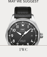 Featured Brand - IWC, Shop Now