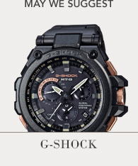 Featured Brand - GShock