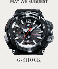 Featured Brand - G-Shock Shop now