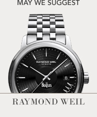 Featured Brand - Raymond Weil, Shop now