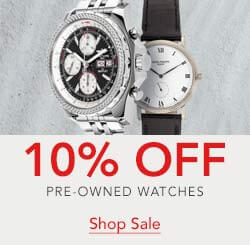 10 off pre-owned watches with code SAND4103