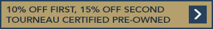 Up to 15% off pre-owned watches