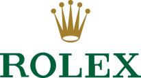 Rolex footer logo